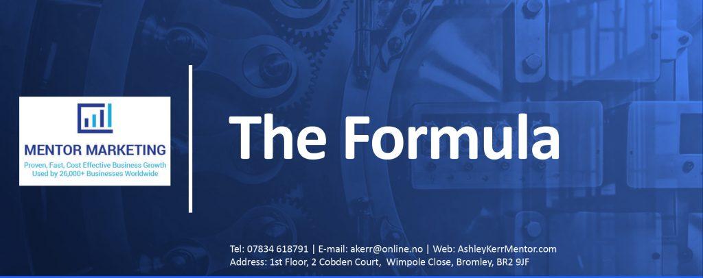 Panaceas the Formula Business Mentoring